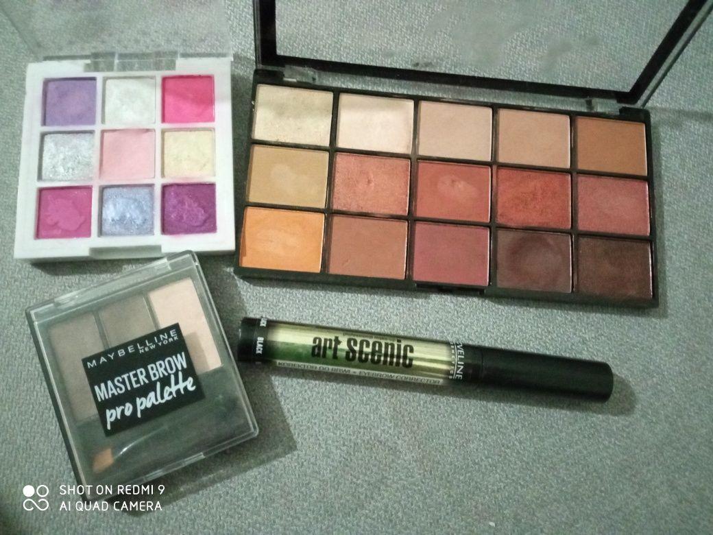 Paletki cienie do makijażu