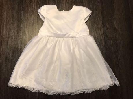 Sukienka COCODRILLO, okazjonalna, chrzciny, roczek.