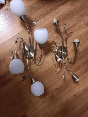 Lampa na cztery żarówki