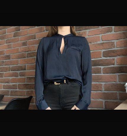 Eleganckie bluzki z dekoltem w łezkę ZARA