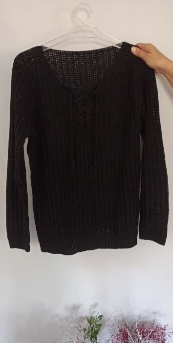 Czarny sweter Warka - image 1