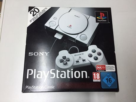 Consola Sony PlayStation Classic mini nova selada