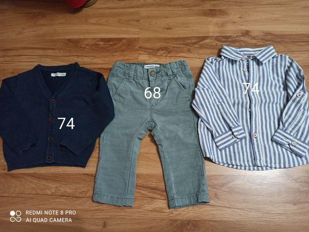 Koszula, spodenki, sweterek