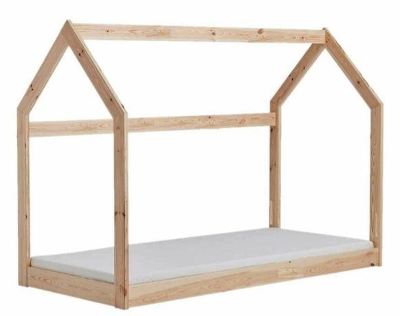 Łóżko domek. Łóżeczko dziecięce. Łóżko tipi. 140x70