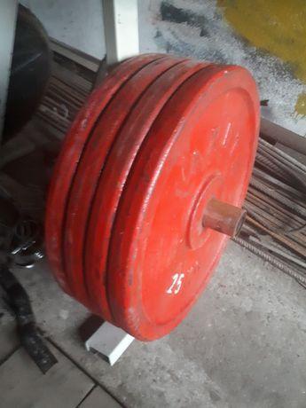 Obciążenie olimpijskie arete 4x25kg 100kg