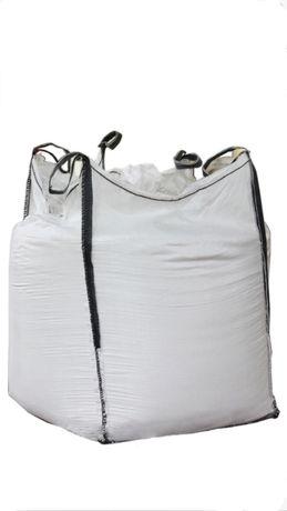 Big bag bagi na Zboże pasze 85x95x109 cm lej wysypowy