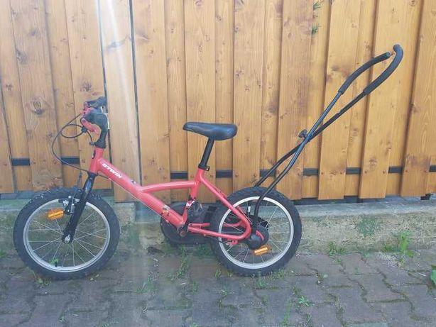 Rower dziecięcy B'twin, idealny do nauki jazdy