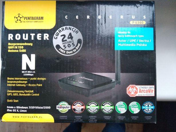 Router bezprzewodowy wifi N 150 antena 5dBi Nowy !