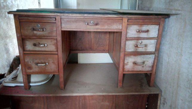 secretarias antigas madeira