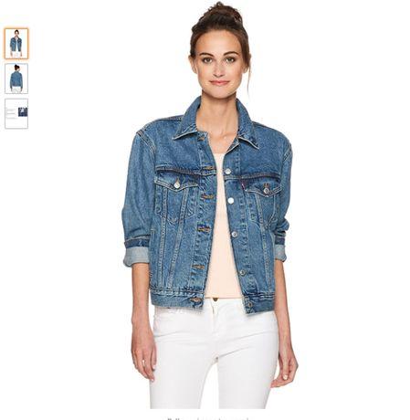 Джинсовая куртка Levi's женская новая оригинал размер S,M
