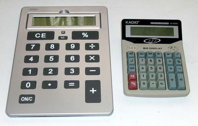Calculadoras tamanho médio e grande