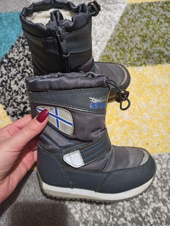 Ботинки зимные, теплые