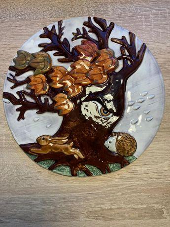 Talerz dekoracyjny Goebel
