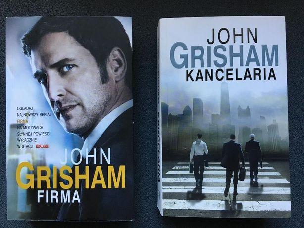 """John Grisham 2 książki: """"Firma"""" oraz """"Kancelaria"""" - RAZEM TANIEJ"""