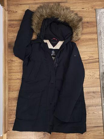 Tommy HILFIGER, damska kurtka zimowa r. M jak nowa