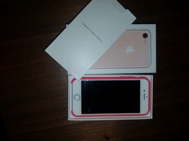 iPhone 7 pink 128g