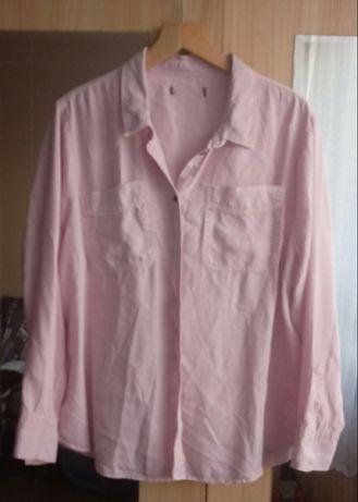 Duża bluzka koszulowa 48-50