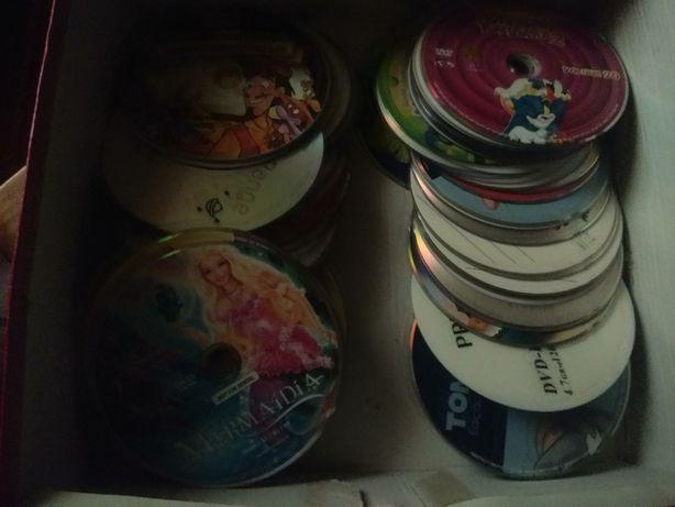 DVDs infantis vários