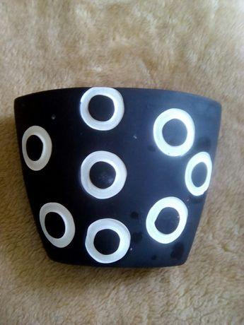 Горшок кашпо для цветов глиняный