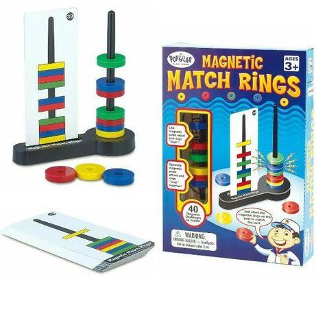 """Игра """"Магнитные колечки"""" Magnetic Match Rings"""