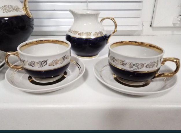 Чашки с блюдми новые времен СССР