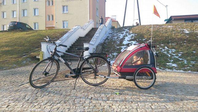 Przyczepka rowerowa Nordic Cab 5w1