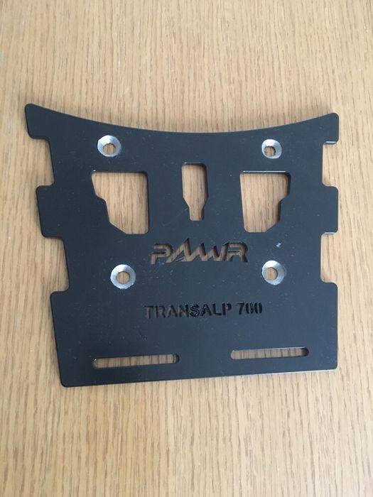 Base Top Case PAMIR nova Transalp 700 Vidigueira - imagem 1