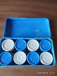 Шашки в коробке, времён СССР