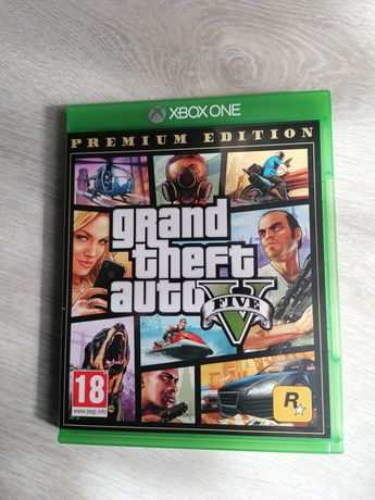 Grand Theft Auto 5 Premium Edition Xbox One