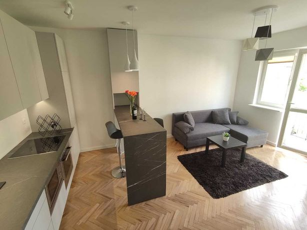 2 pokojowe mieszkanie na wynajem Grunwald. Dostępne od listopada