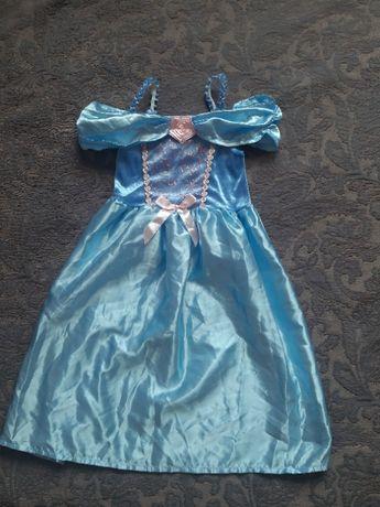 платье принцессы дисней на 3-4 года 98-104 рост на утренник праздник