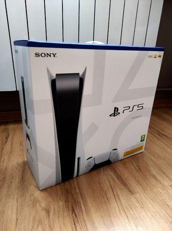 Playstation 5 PS5 z NAPĘDEM, Stacja Ładująca, 2x PAD szybka realizacja