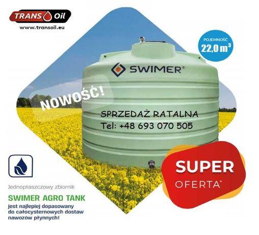 Zbiornik do nawozów płynnych RSM SWIMER 22.000l, Dostawa 48h