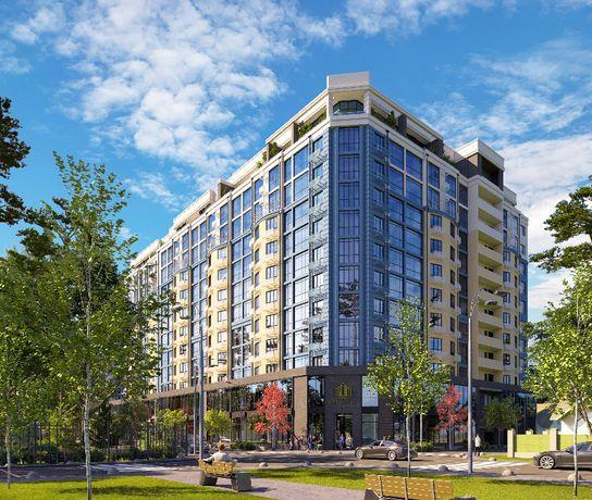 Продам 1к квартиру 40 м2 ЖК Бизнес класса. Панорамные окна. Центр