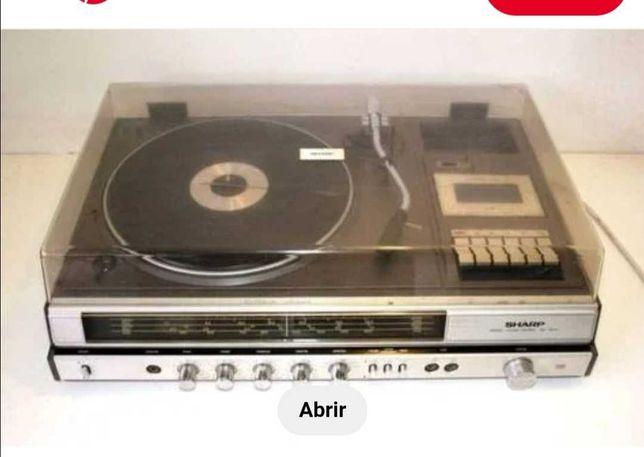 Vendo Gira-Discos marca Sharp