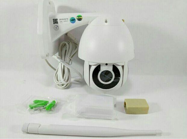 Камера поворотная уличная IP, WiFi, 360 обзор, запись на карту