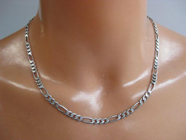 Łańcuszek męski Figaro 21gram 51cm łańcuch srebro