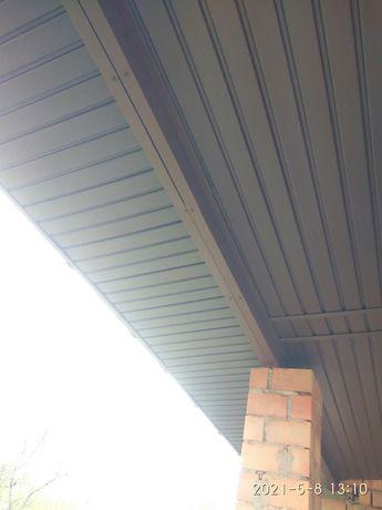 Покрівля , ринви, підшивка , утеплення даху