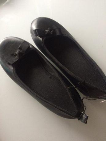Buty baleriny czarne h&m rozmiar 32 wyprzedaż szafy