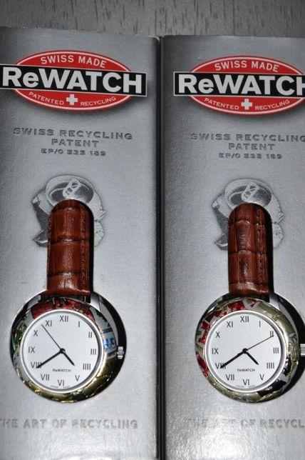 Швейцарські екологічні годинники ReWATCH
