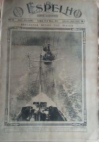 o espelho jornal ilustrado 1917 / 1.ª guerra mundial