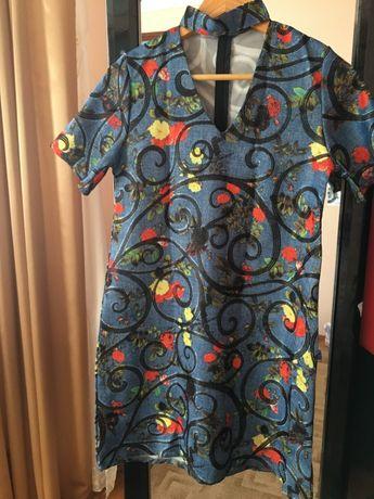 Плаття, платье с чокером