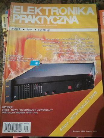 4 numery czasopisma Elektronika Praktyczna, dla kolekcjonera