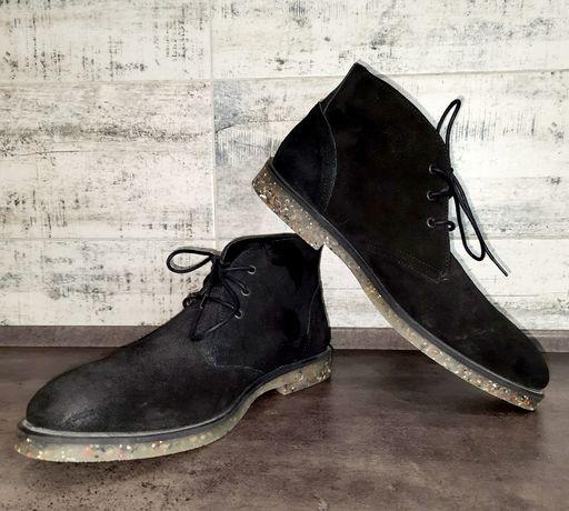 Продам мужские замшевые ботинки ASOS с вощёнными носками и пяткой.
