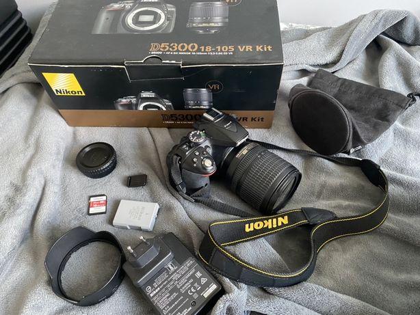 Nikon D5300 + nikkor 18-105
