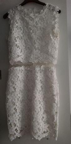 Sukienka biała S letnia
