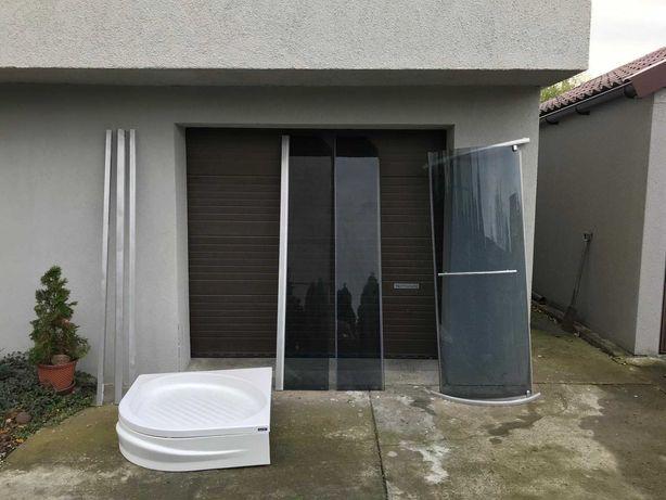 Oryginalna Kabina Prysznicowa szkło 90x90 brodzik Sanplast