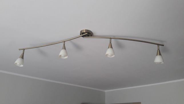 Lampa żyrandol + 4 żarówki LED