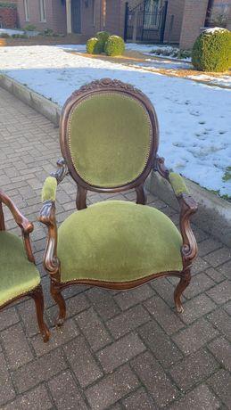 Piekne 2 krzeseła/trony styl ludwik XV!!! Tanio!!! 2