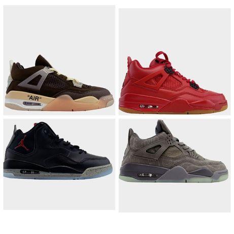Кроссовки Nike Air Jordan 4 Retro кросівки найк аир джордан 4 (36-45)
